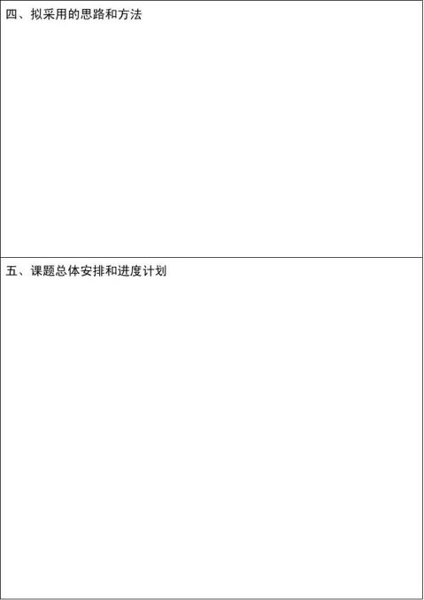 信息系毕业设计开题报告模板